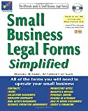 img - for Small Business Legal Forms Simplified: The Ultimate Guide to Business Legal Forms (Small Business Legal Forms Simplified (W/CD)) book / textbook / text book