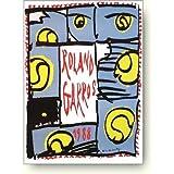 ピエール アレシンスキー ローラン ギャロス(全仏オープン) 1988年 アートポスター