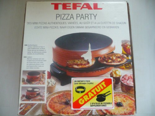 Sp cial pour tefal pizza party for Pizza party tefal darty