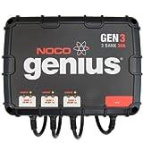 NOCO Genius GEN3 30 Amp 3-Bank Waterproof Smart On-Board Battery Charger ~ NOCO