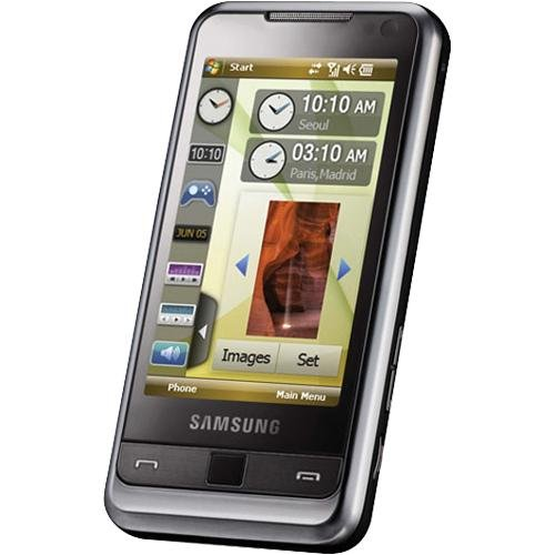 Samsung I90016GBEUSLV i900 Omnia 16GB Unlocked Phone - International Version with No U.S Warranty (Modern Black)