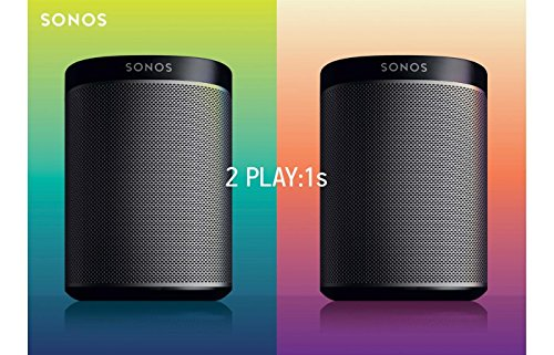 SONOS PLAY:1 2-Room Streaming Photo