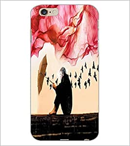 PrintDhaba Creative Image D-4027 Back Case Cover for APPLE IPHONE 6S (Multi-Coloured)