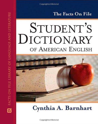 The Facts on File Student's Dictionary of American English (Facts on File Library of Language and Literature)