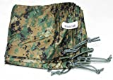 Official USMC Reversible Woodland MARPAT/Coyote Field Tarp