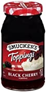 Smucker's  Black Cherry Topping, 11.7500-Ounce (Pack of 6)