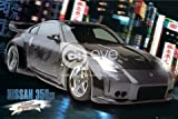 Fast and Furious Toyko Drift Nissan 350z Large Movie Film Car Art Poster 61 by 91.5cm