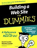 David A. Crowder Building a Web Site For Dummies