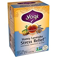 Yogi Honey Lavender Stress Relief Tea 16 Tea Bags