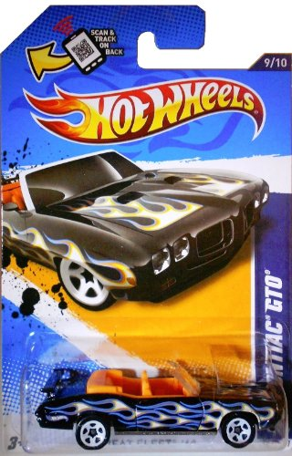 Hot Wheels Heat Fleet '12 '70 Pontiac GTO 9/10 - 1
