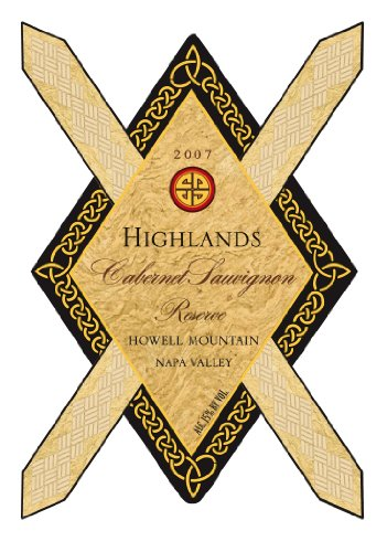 2007 Highlands Cabernet Sauvignon Reserve Howell Mountain 750 Ml