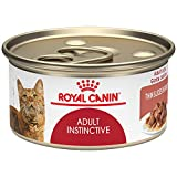 Royal Canin Feline Health Nutrition Adult Instinctive Thin Slices in Gravy Canned Cat Food, 3 Ounce Can (Pack of 24)