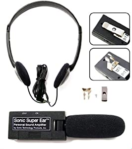 SuperEar Personal Sound Amplifier Model SE4000 Single Unit by Sonic Technology Products Inc.