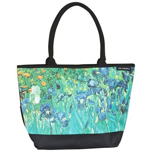 "VON LILIENFELD Borsa shopping Vincent van Gogh: ""Iris"""