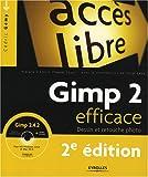 echange, troc Cédric Gémy, Gaël Thomas, Yuval Levy - Gimp 2 efficace : Dessin et retouche photo (1Cédérom)