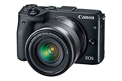 Canon EOS M3 Mirrorless Camera (with EF-M18-55 IS STM Lens)