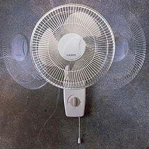 Lasko Products 12 Inch Oscillating Wall-mount Fan 3