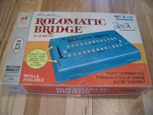 Milton Bradley Rolomatic Bridge Machine #4940 - 1