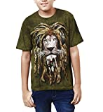 The Mountain Kid's T_Shirt DJ Jahman Child_Green_Large