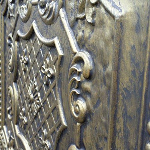 pl04en étain antique plafond 3D Dalles pour café Pub Shop Art Décoration murale panneaux 10pieces/Lot