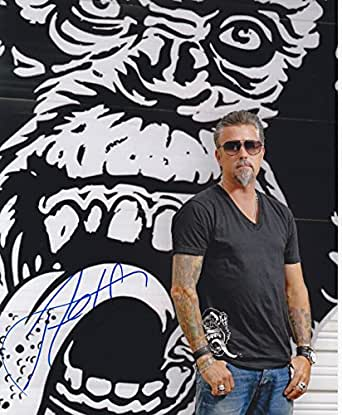 Richard Rawlings autographed 8x10 photograph Fast N' Loud Gas Monkey