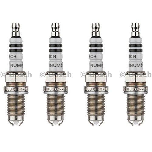 New Spark Plug (Set of 4) BOSCH # 4308 Platinum+2 (Honda Odyssey 2000 Parts compare prices)
