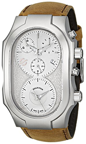 Philip-Stein-Mens-300-SLG-CASTM-Swiss-Signature-Analog-Display-Swiss-Quartz-Brown-Watch