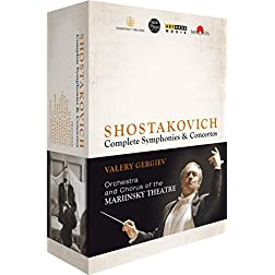 The Shostakovich Cycle- Complete Syphonies & Concertos [Blu-ray]