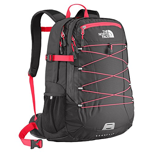The North Face Women's Classic Borealis Backpack, Rocket Red/Asphalt Grey