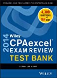 Wiley CPAexcel Exam Review 2014 Test Bank, Complete Set