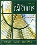 Thomas' Calculus Part Two [With CDROM]