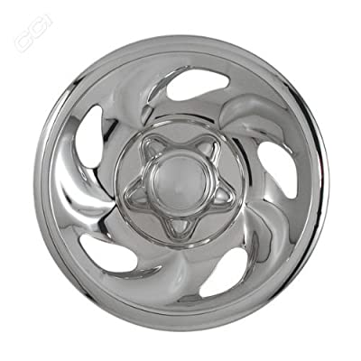Coast To Coast IWCIMP01X 16 Inch Chrome Wheelskins With 5 Directional Openings - Pack Of 4