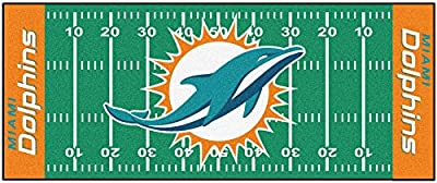Fanmats Miami Dolphins Team Runner