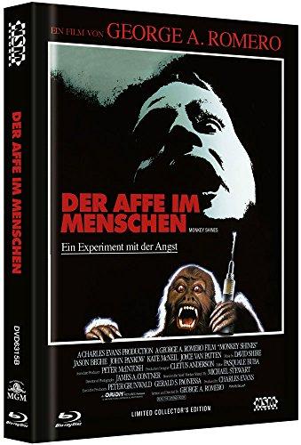 Der Affe im Menschen - uncut (Blu-Ray+DVD) auf 444 limitiertes Mediabook Cover B [Limited Collector's Edition]