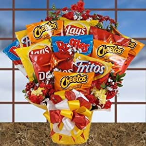 Amazon.com : Salty Selections Chip Bouquet | Snack Gift Set for the