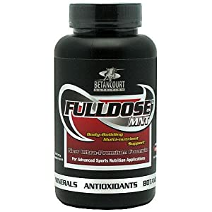 Betancourt Nutrition Full Dose Nutritional-Supplement, 60 Count