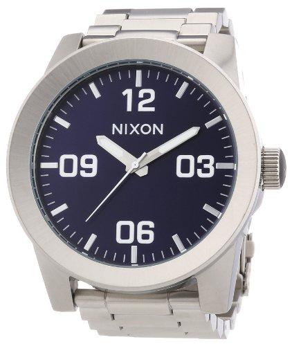 nixon-a3461258-00-montre-homme-quartz-analogique-bracelet-acier-inoxydable-argent