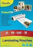50 A3 Laminating Pouches 150 Micron (2 x 75 micron) Gloss Laminate Pouch
