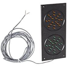 "IWI TCS-3000 24V Sure-Lite Exterior Traffic Control System, 5"" Width x 10-3/4"" Height"