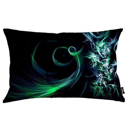 i FaMuRay Decorativa per Cuscino (Insert & Cover), Spirals King Size 20x36