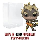 Funko Pop! Games: Overwatch - Junkrat Vinyl Figure (Bundled with Pop Box Protector Case) (Tamaño: 3.75 inches)