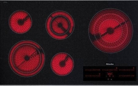 Miele : KM5676 (KM5860) 36 Touch Control Smoothtop Electric Cooktop