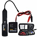 GOCHANGE Automotive Cable Wire Tracker / Short & Open Circuit Finder and Tracer / Tester / Detector , Car Repaire Tool with Automotive Short and Open Finder Transmitter & Receiver, Carrying Pouch
