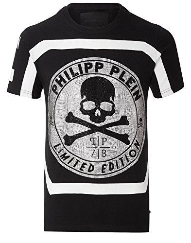 """PHILIPP PLEIN """"UNLIMITED"""" Herren T-Shirt - Black (L) thumbnail"""