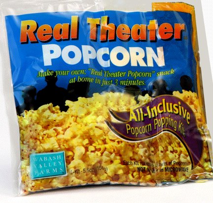 Wabash Valley Farms, Single Real Theater Popcorn All Inclusive Popping Kit (Wabash Valley Farms Popcorn Kits compare prices)