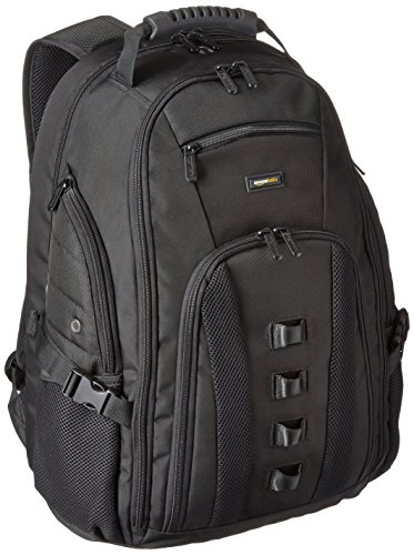 AmazonBasics Adventure Backpack – Fits Up To 17-Inch Laptops