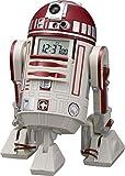 リズム時計 STAR WARS ( スターウォーズ ) R4-P17 音声 ・ アクション 目覚し キャラクター 時計 赤色 8ZDA21BZ01