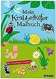 Mein Krabbelkäfer-Malbuch: Mit vielen Rätseln, Labyrinthen und Suchbildern
