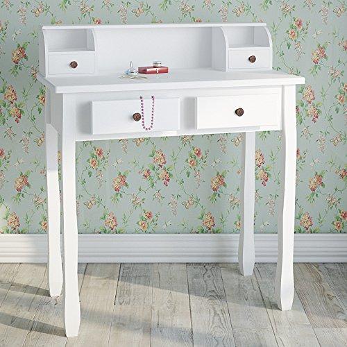 Miadomodo-Schminktisch-Frisierkommode-Frisiertisch-Kosmetiktisch-Sekretr-Schreibtisch-im-Barockstil-mit-kleinen-Laden-in-zwei-verschiedenen-Farben