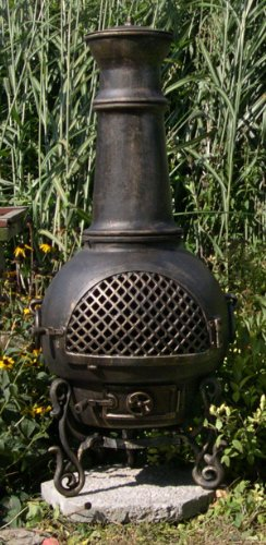 The-Blue-Rooster-Gatsby-Chiminea-in-Gold-Accent